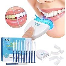 Y.F.M Kit de Blanqueamiento de Dientes Profesional en Casa Juego de Blanqueamiento Dental 10 x Gel