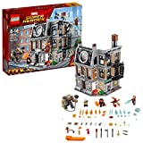 LEGO 76108 Marvel Avengers Sanctum Sanctorum Showdown Building Set, Super Heroes Battle Toy inc.l. Iron Man Dr. Strange, Iron Spider-Man Minifigures