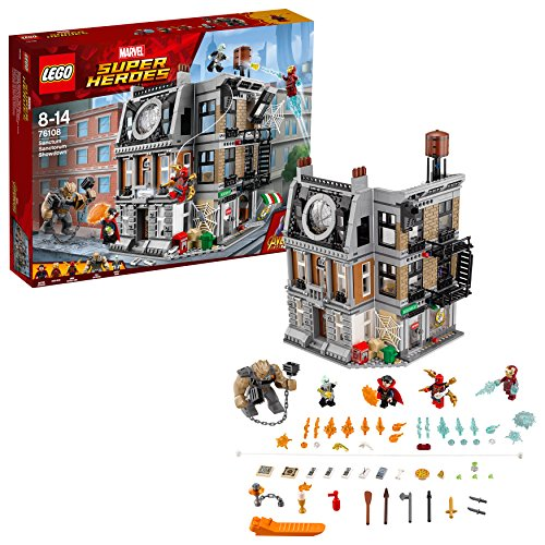 LEGO UK 76108 Marvel Super Heroes Sanctum Sanctorum Showdown Superhero Toy