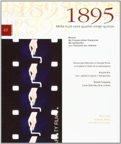 Publications de l'Association française de recherche sur l'histoire du cinéma par A Marotto