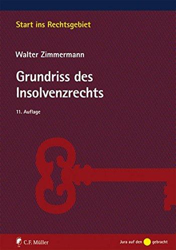 Grundriss des Insolvenzrechts (Start ins Rechtsgebiet)