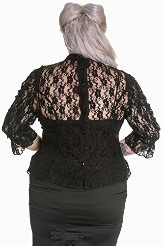 Spin Doctor Bluse PRUDENCE TOP 6410 Black
