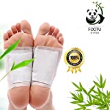 100 Bambus Essig Detox Foot Patch selbstklebend Tabelle entfernen Giftstoffe Foot Pflaster Schlaf helfen Foot Pads