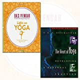 Light on Yoga Collection 2 Books Bundles (The Heart of Yoga: Developing a Personal Practice,Light on Yoga: The Definitive Guide to Yoga Practice)
