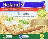 Roland Knäckebrot Zwerghirse Teffmehl - glutenfrei, vegan, 10er Pack (10 x 200 g)