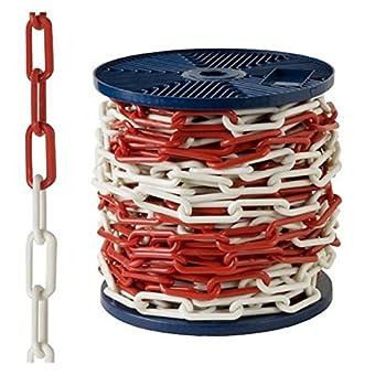 Abus BOCAPLA060-Bobine de 25 m de chaîne en plastique Bicolore 6 mm