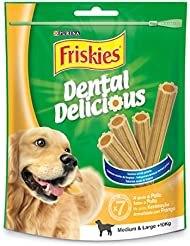 Purina Friskies Dental Delicious Pollo mediano y grande pequeño 100g