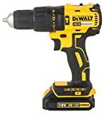DEWALT DCD778S2T-QW - Taladro Percutor sin escobillas XR 18V, 13mm, 65Nm, incluye 2...
