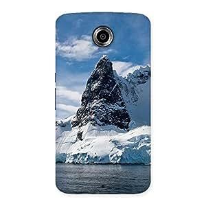 Luxirious Beach Freez Hill Back Case Cover for Nexsus 6