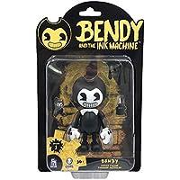 Bendy And The Ink Machine BTIM6601 - Figura de acción Flexible, Color Negro