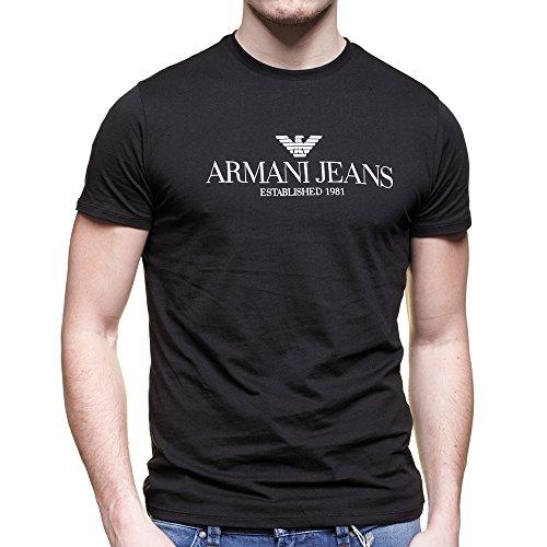 t-shirt-armani-jeans-c6h6e-ff-noir-et-blanc-col-rond-l-noir