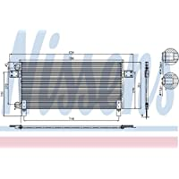 NISSENS 94681 Condensatore, Climatizzatore