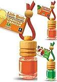 3 Little Bottle Duftflakons Weihnachtsdüfte Je 1 x Apfel mit Zimt, 1 x Amerikanische süsse Vanille + 1 x Orange