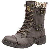Rocket Dog AMPB - Thunder Military Ankle Boots - Black, Brown, Tan, Black Galaxy, Brown Galaxy, Grey