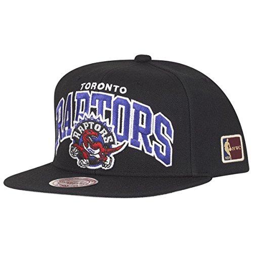 Mitchell & Ness Toronto Raptors Arch HWC Patch Snapback NBA Cap Schwarz, Black, Einheitsgröße Toronto Raptors-fan