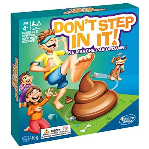 Hasbro gaming e2489102don' t step in it