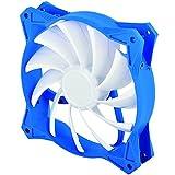 SilverStone SST-FW122 - Série FW Ventilateur PWM silencieux de 120mm pour ordinateur, blanc-bleu