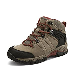 512RiDZ%2BkpL. SS300  - Clorts Women's Suede Uneebtex Mid Waterproof Hiking Boot Outdoor Backpacking Shoe HKM822