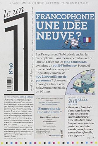 Le 1 - n°98 - Francophonie une idée neuve par Collectif