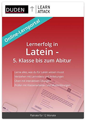 Duden Learnattack - Lernerfolg in Latein - 5. Klasse bis zum Abitur (12 Monate Flatrate)