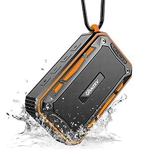 Bluetooth Lautsprecher Wasserdicht fur Outdoor und Indoor, VANZEV Tragbar Fahrrad Lautsprecher Ausen Wireless Bluetooth Box mit FM Radio/AUX/TF-Karte, Top fur Fahrrad-Fahren, Party, Strand, Reise