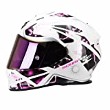 SCORPION Casque de Moto EXO-510 AIR Xena, Rose/Fuchsia, Taille M