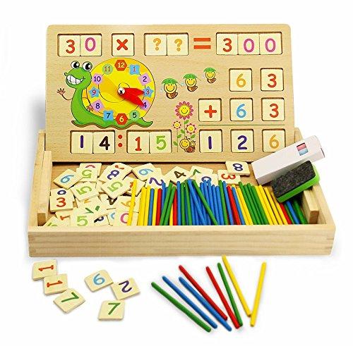 Montessori matemáticas Juguete de Madera Digital de Dibujo...