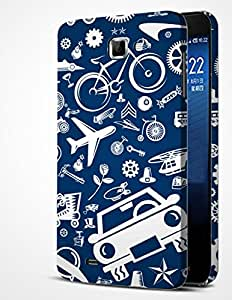 ALDIVO Premium Quality Printed Mobile Back Cover For Samsung Galaxy Note 2/Samsung Note 2 Printed Cover (MKD226)