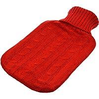 Wärmflasche mit Strickbezug - Rot preisvergleich bei billige-tabletten.eu