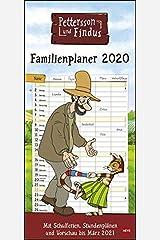 Pettersson und Findus Familienplaner 2020 21x45cm Kalender