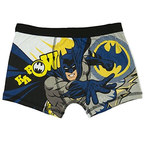 Batman Kapow Jungen Boxer Shorts - Alter 4-10 Jahre - 9-10 (140 cms) (Boxer-shorts Alte)