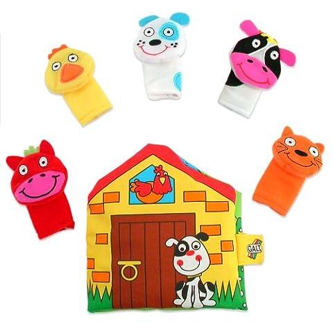 Galt Toys First Puppet Book