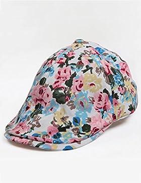 estate femminile Cotone cappello stampato protezione solare casuale cappello all'aperto