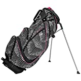 Ogio 2017 Featherlite Luxe Stand Bag Mens Golf Carry Bag 8-Way Divider Rictor