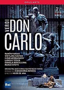 Verdi : Don Carlo. Vargas, Kasyan, de Ana, Noseda. [Import italien]