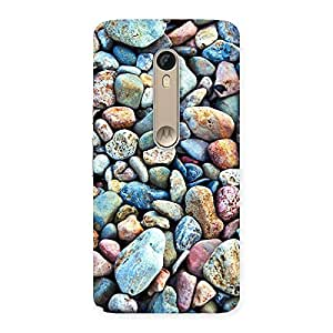 Special Water Pebbels Multicolor Back Case Cover for Motorola Moto X Style