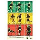 Laminiertes/verkapselter Bob Marley Football