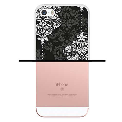iPhone SE iPhone 5 5S Hülle, WoowCase Handyhülle Silikon für [ iPhone SE iPhone 5 5S ] Hawaii Big Waves Surf Rider Handytasche Handy Cover Case Schutzhülle Flexible TPU - Transparent Housse Gel iPhone SE iPhone 5 5S Transparent D0554