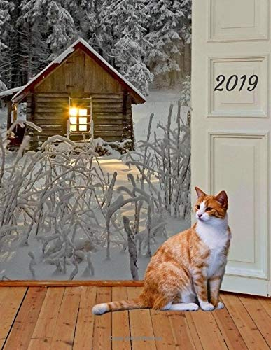 2019: Ginger Cat 2019 Weekly Planner Large Size 8.5 x 11 Organizer Diary with Goal Setting & Gratitude Sections (Nature and Animals, Band 11)