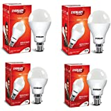 Eveready Base B22 12W Pack Of 2 With 7W Pack Of 2 LED Bulb Combo