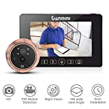 VBESTLIFE 4.3'LCD Peephole Viewer Campanello PIR Motion Detection Monitor HD Night Vision Telecamera di Sicurezza