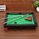 Srmaji Plastic Pool Snooker Table Soccer Game Toys For Kids, Billiard Table Portable Snooker Table With 4 Stand & 2 Cue Sticks Toy For Kids Snooker Table Game Active Mind Sports Mini Pool Table Soccer Game With Stand For Kids Billiard Table High Quali