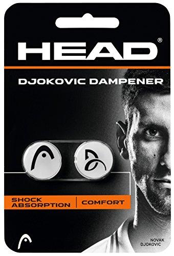 HEAD Schlägerzubehör Djokovic Dampener 2er, 285704-WH Test
