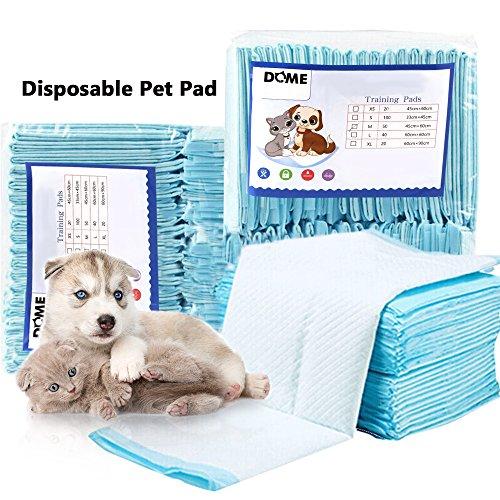 OurLeeme Pet Pad Einweg-Pads, absorbierend, Deodorant für Hunde, Tiertraining