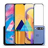 SupCares Premium Edge to Edge Tempered Glass Screen Protector for Samsung Galaxy M30S