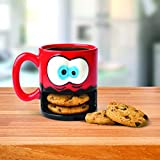 "Big Mouth Toys BMMU-CM - Taza de plástico con texto""Crazy for Cookies"""