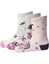 Lego Wear Lego Girl Friends Alexa 601-3er Pack Socken, T-Shirt Fille, (lot de 3)