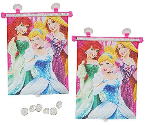 Sonnenschutz Rollo - Disney Prinzessin - Arielle Rapunzel Cinderella - für Fenster und Auto Seitenscheibe - Sonnenblende - Mädchen Kinder Baby - So.. ()