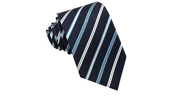 GASSANI A righe Cravatta Uomo blu blau//hellblau//Wei/ß Medium