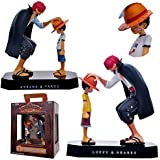 ONE PIECE Luffy and Shanks Action Figure Toy
